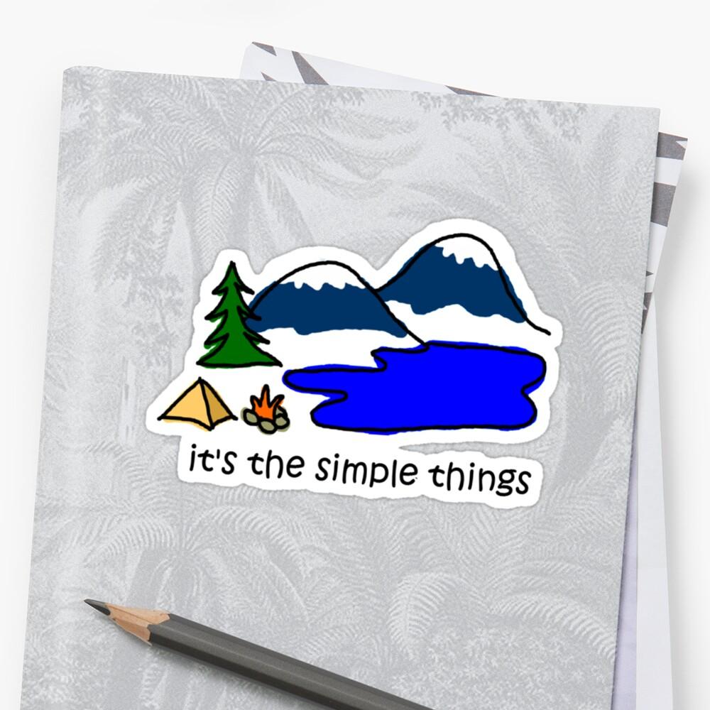 Camping - Simple Things by Jon Winston