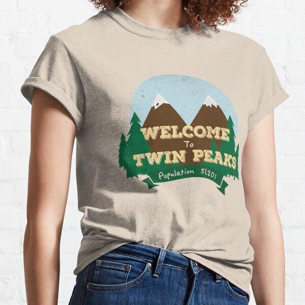 Bienvenue à Twin Peaks T-shirt classique