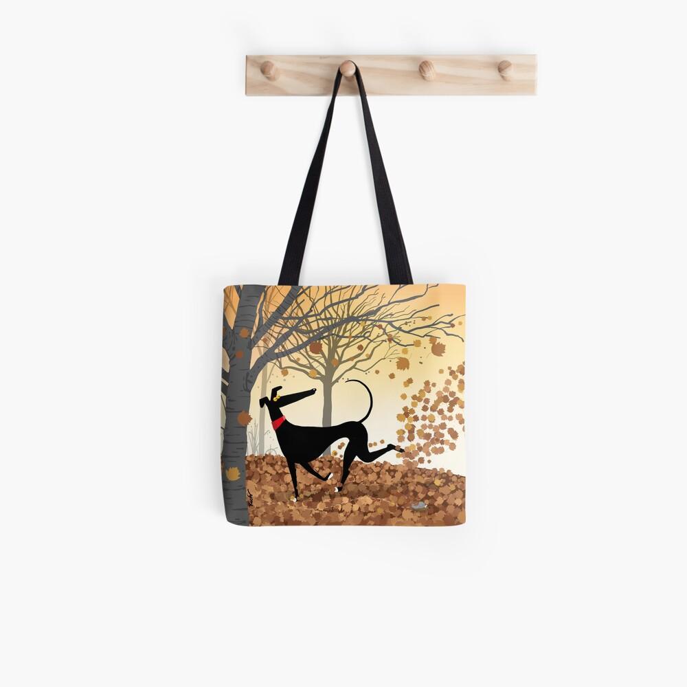 Autumn Hound Tote Bag