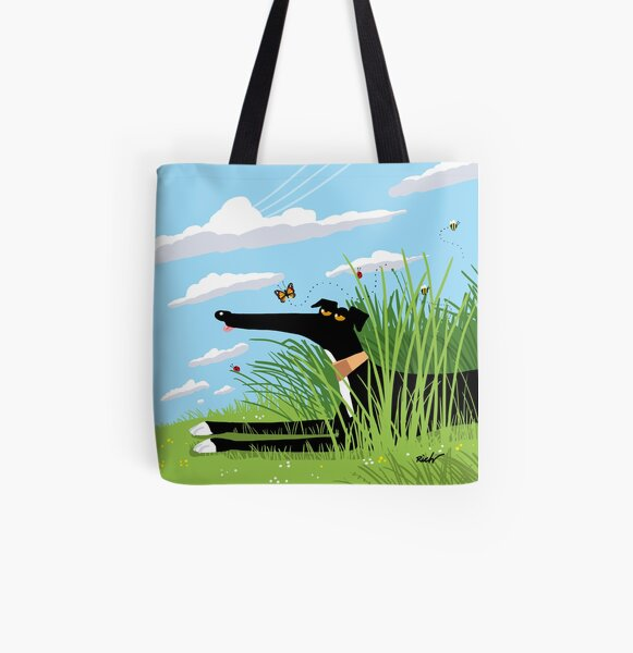 Summer Derp All Over Print Tote Bag