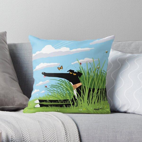 Summer Derp Throw Pillow