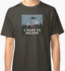X-Files Twin Peaks mashup Classic T-Shirt