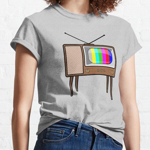 Retro TV set Classic T-Shirt