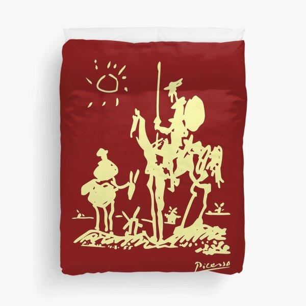 Pablo Picasso Don Quixote 1955 Artwork Shirt, Reproduction Duvet Cover