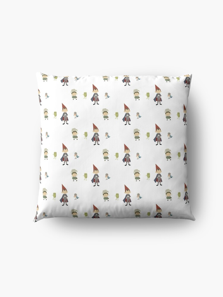 Alternate view of Mini Minimalistic Over the Garden Wall Floor Pillow