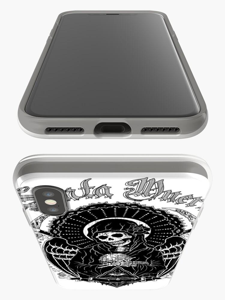 Alternate view of Holy Death Santa Muerte T-shirt Print iPhone Case & Cover