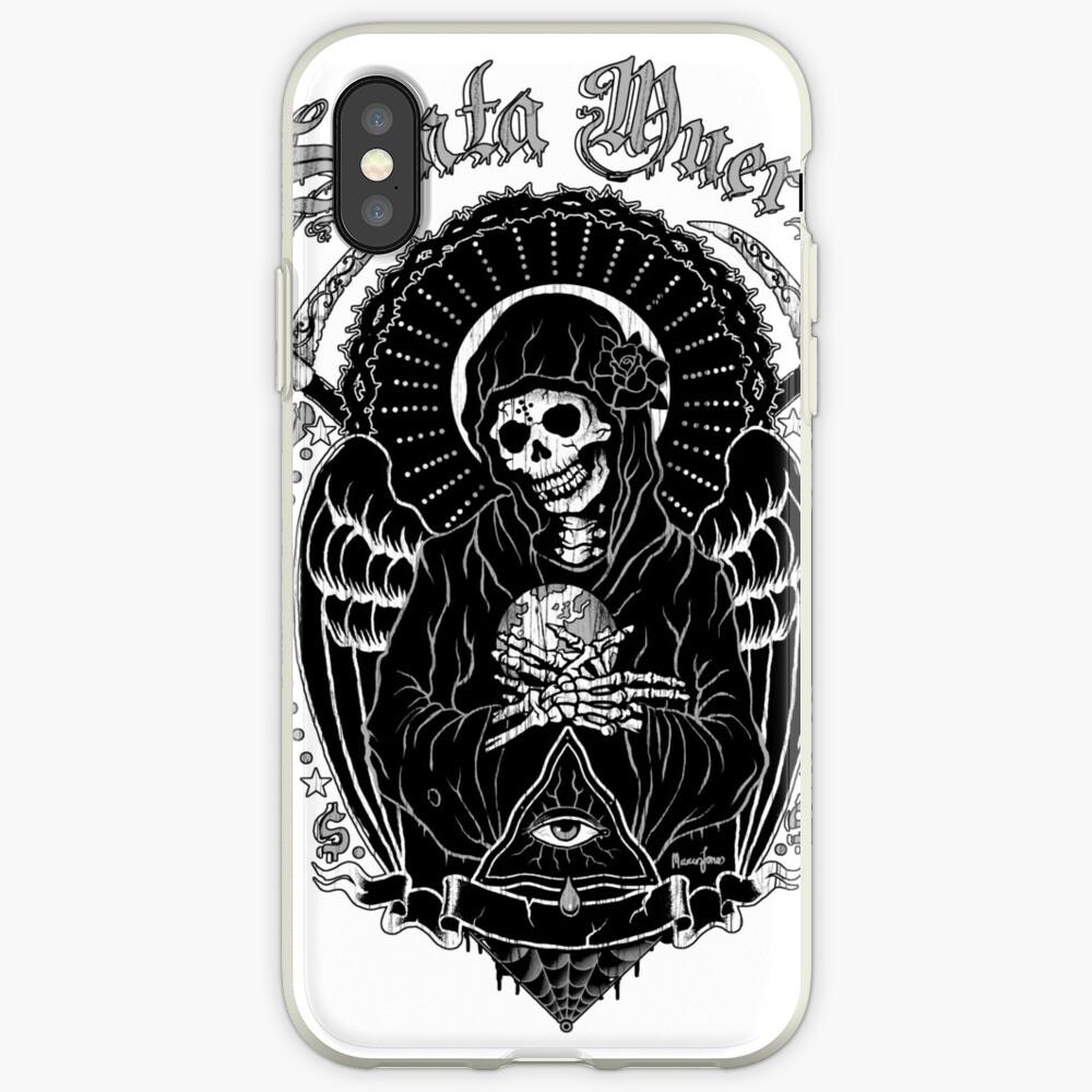 Holy Death Santa Muerte T-shirt Print iPhone Case & Cover