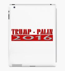 Trump Palin 2016 iPad Case/Skin