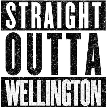 Wellington Represent! by tuliptreetees