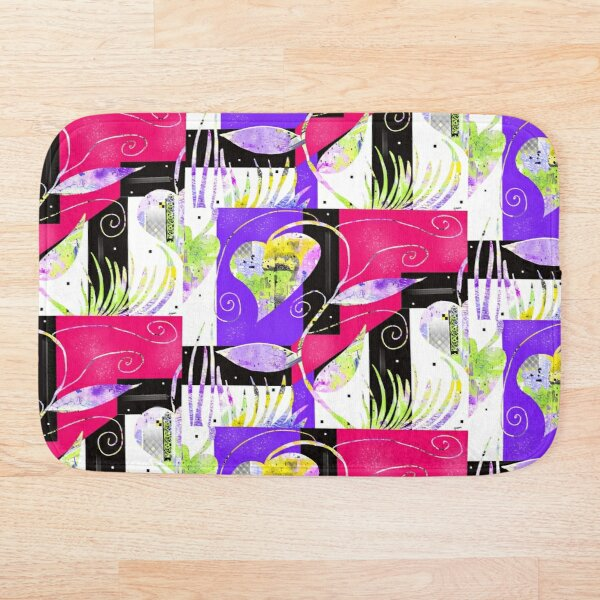 Pretty Vines Bath Mat
