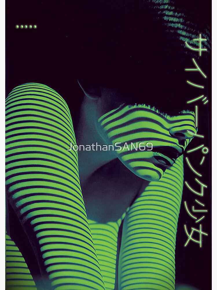 Cyberpunk Girl~サイバーパンク少女 by JonathanSAN69