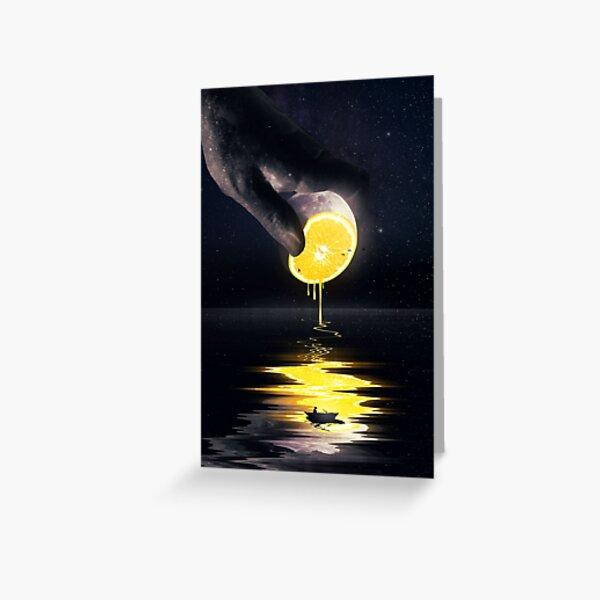 Le Moon Greeting Card