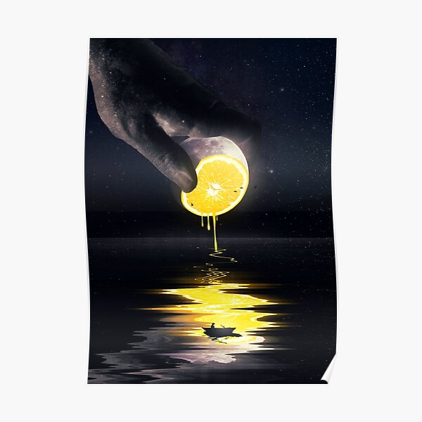 Le Moon Poster