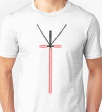 Lightsaber Cross Unisex T-Shirt