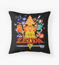 Star Wars Movie Poster Meets A Zelda Themed Epic Win! Throw Pillow