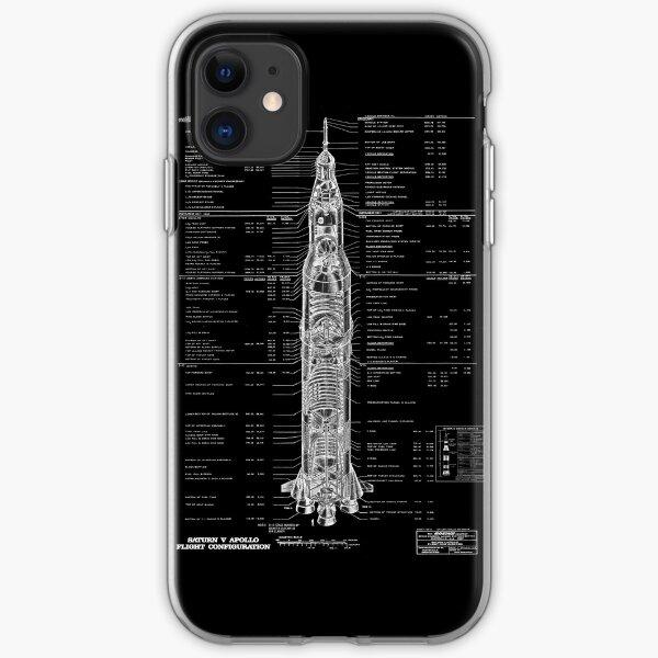 Saturn V Rocket iPhone Soft Case
