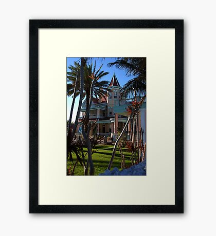 The Southernmost Hotel in Key West, FL Framed Print