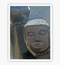 African Sculpture Sticker