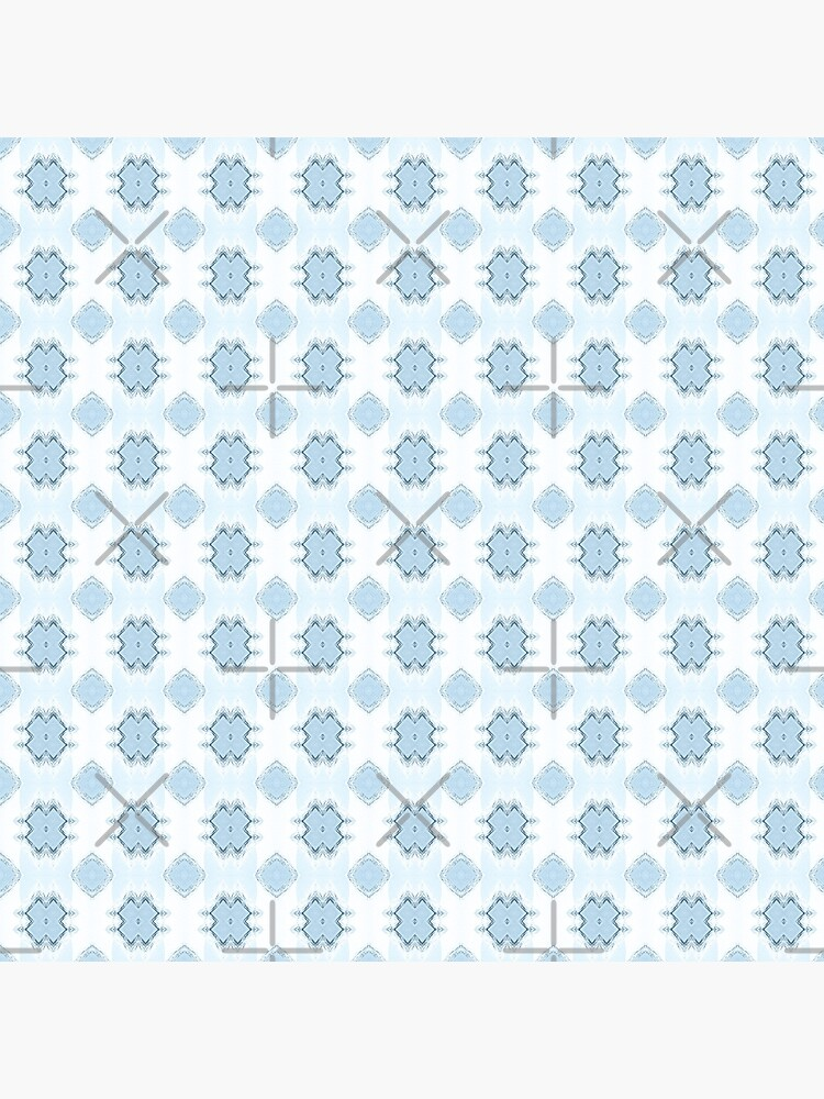Noughts and Crosses - Fresh Blue by ifourdezign