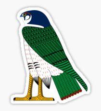 Horus as Falcon | Egyptian Gods, Goddesses, and Deities Sticker