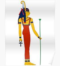 Maat | Egyptian Gods, Goddesses, and Deities Poster