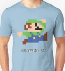 Luigi Player 2 T-Shirt