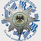 Prussian Motto ..To Each according to their Merit by edsimoneit
