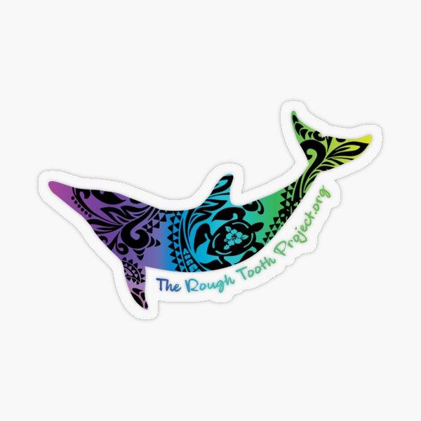 Maui Blue Transparent Sticker