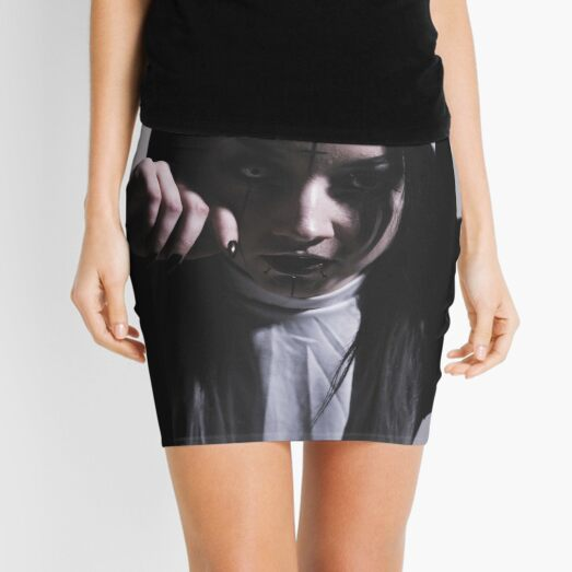 Nun ft. Electra Creative - Creative Portrait Photography (Horror) Mini Skirt