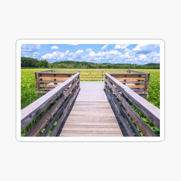 Welcome Great Meadows Summer Sticker