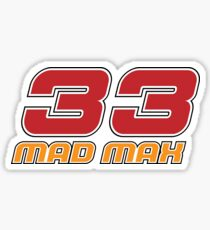 Mad Max 33 Sticker