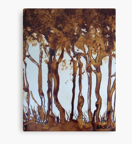 Nescafe Forest Canvas Print
