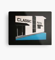 Classic Motel Metal Print