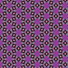 Purple Abstract Madness by daphsam