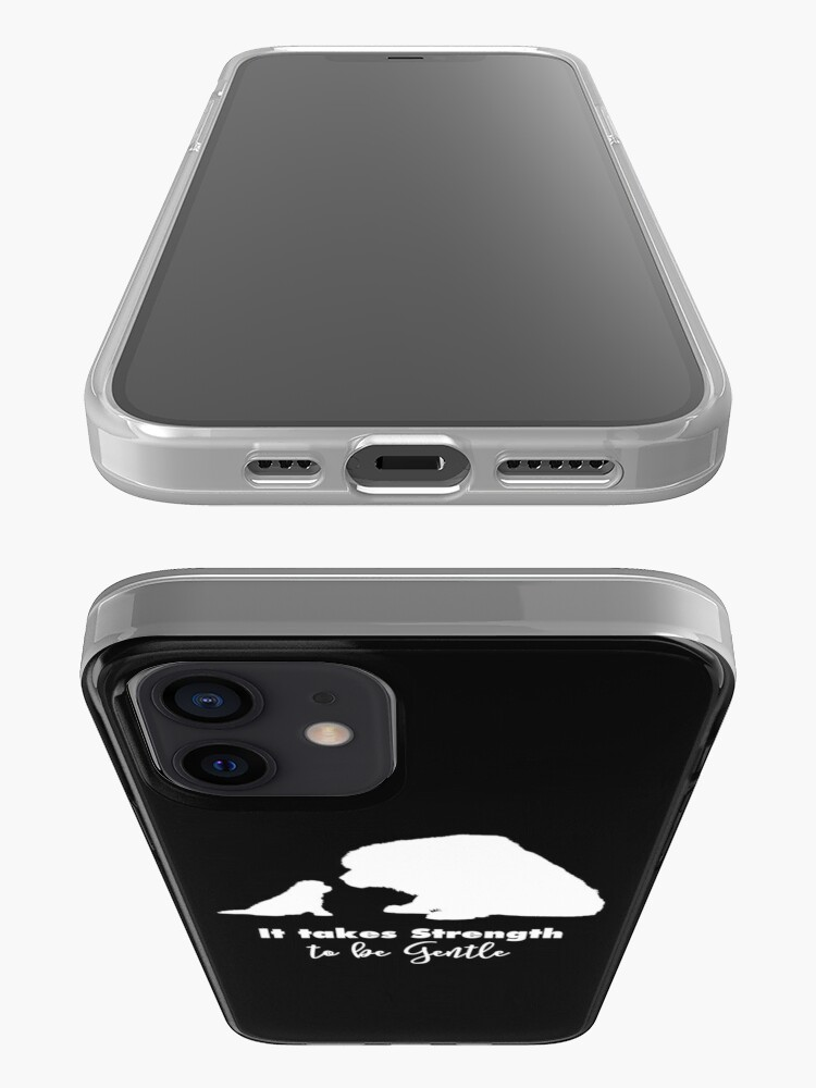 Alternate view of It Takes Strength to Be Gentle iPhone Case & Cover