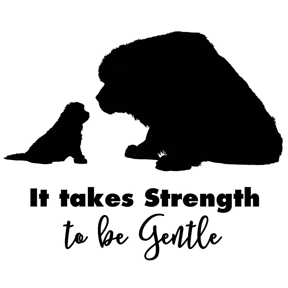 It Takes Strength to Be Gentle by Christine Mullis