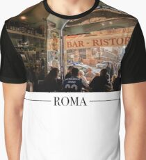Roma Cafe  Graphic T-Shirt