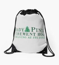 Shady Senior Life Drawstring Bag