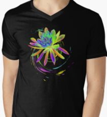 Psychedelic Tropical Flower  T-Shirt