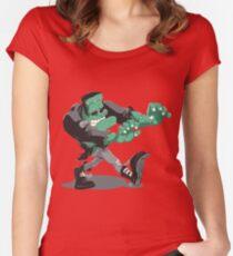 Frankenstein's Monster Women's Fitted Scoop T-Shirt