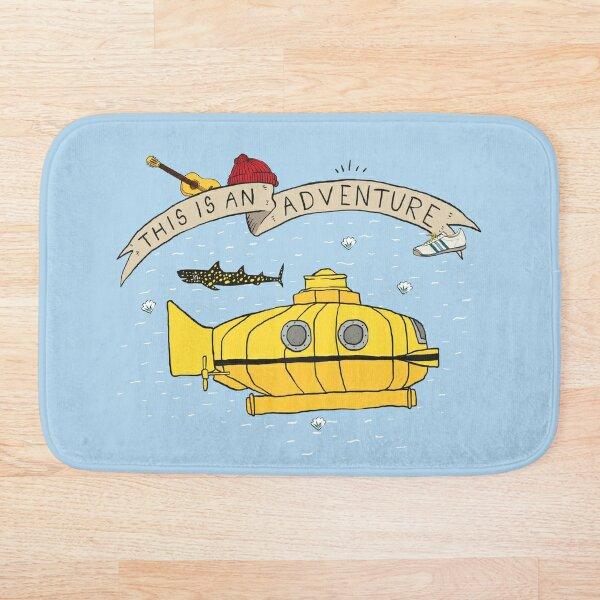This Is An Adventure Bath Mat
