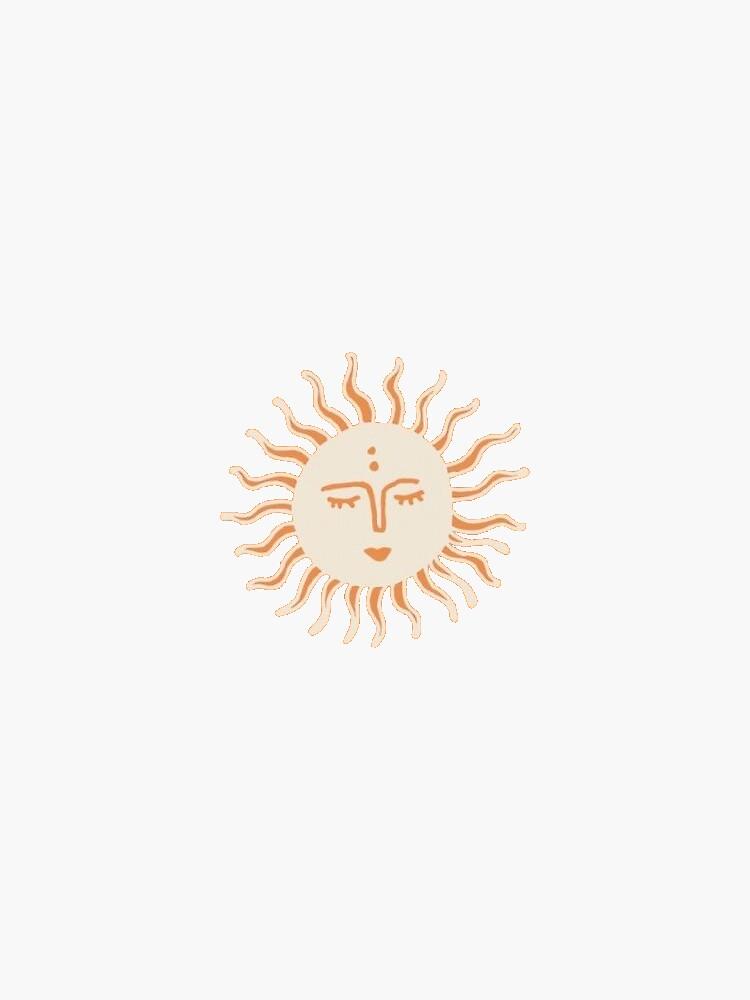 Calm Sun  by sstickershopp