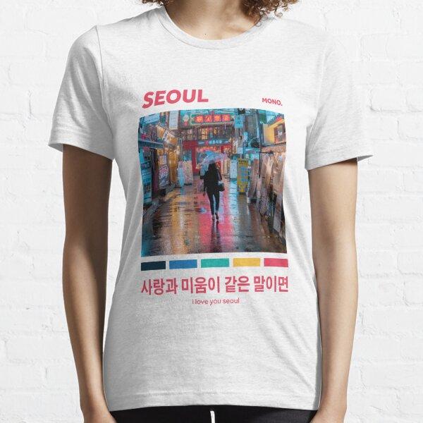 SEOUL (MONO-SAMMLUNG / BTS) Essential T-Shirt