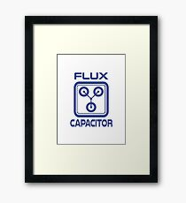 Flux Capacitor  Framed Print
