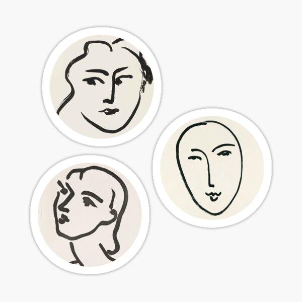 Autocollants Matisse Artsy Sticker