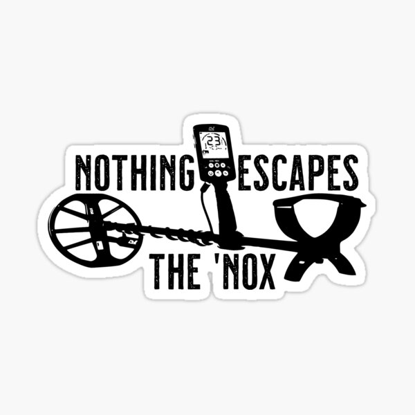 Nothing Escapes The 'Nox Sticker