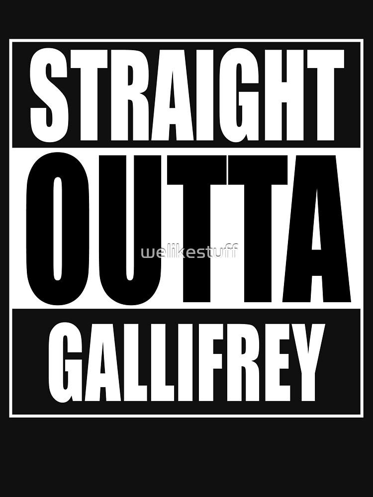 Straight OUTTA Gallifrey - Dr. Who | Unisex T-Shirt