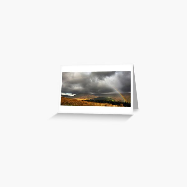 Pen y Fan Rainbow Greeting Card
