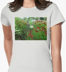 Summer winds Womens Fitted T-Shirt