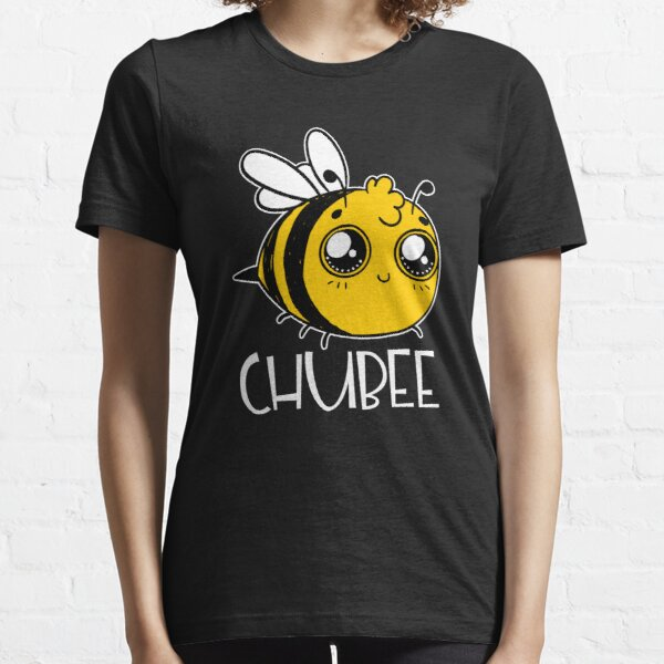Chubby Bee Cartoon Kawaii Essential T-Shirt